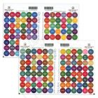 """All Oils and Blends Oil Lock Preprinted Circle Labels: 1/2"""" for Sample Vials (192 Count)"""