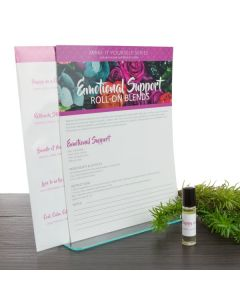 "Make-It-Yourself Series: ""Emotional Support"" Recipes and Label Set"