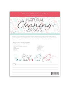 """Make-It-Yourself Series: """"Cleaning Sprays"""" Recipes and Label Set"""