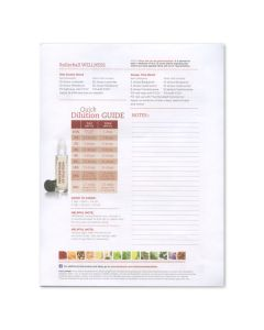 """Rollerball """"Wellness"""": Recipe Sheets (25 Count)"""