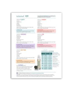 """Rollerball """"Mood Series"""": Recipe Sheets (25 Count)"""