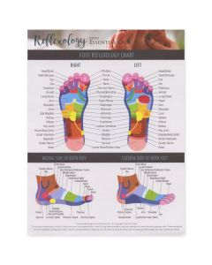 """Reflexology Using Essential Oils"" Tear Pad (25 Count)"
