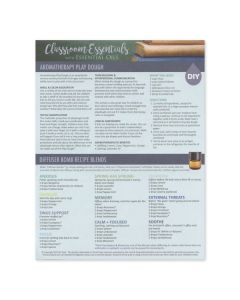 """""""Classroom Essentials with Essential Oils"""": Recipe Tear Pad (25 Count)"""