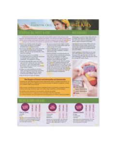 """""""Using Essential Oils with Kids"""" Recipe Tear Pad (25 Count)"""