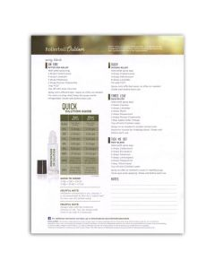 """Rollerball™ """"Outdoor"""": Recipe Sheet (25 Count)"""