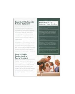 """""""Essential Remedies for Family and Home"""" Brochure (20 Count)"""
