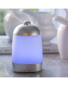 Ultrasonic Diffuser: SpaMist in Silver
