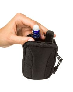 Aroma Ready Key Chain Case: 15 ml or Roll-ons (Holds 2 or 3)