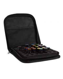 Small Essential Oil Case: Black (Holds 49 Sample Vials)