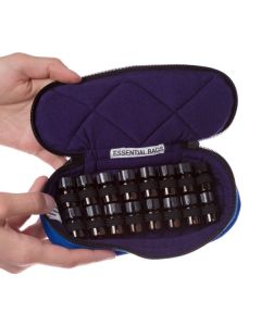 Small Essential Bags Sample Carrying Case: 1/4 or 5/8 dram (Holds 16 Vials)
