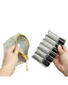 Small Roll-on Clutch with Removable Insert: 10 ml (Holds 6 Vials)