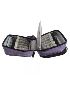 Travel Case: 15 ml and Roll-on Vials (Holds 12 Vials)