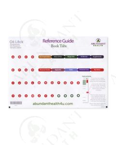 Reference Guide Index Tab Stickers, 2016 Edition