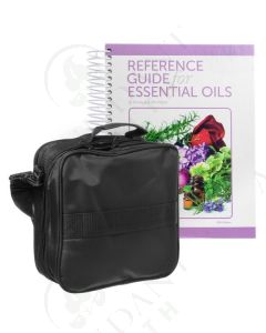 Reference Guide and Case Bundle: Hardcover, 2019 Edition and Medium Versatile Aromatherapy Case (Holds 36 Vials)