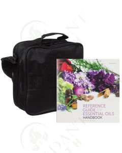 Reference Guide and Case Bundle: Handbook, 2018 Edition; and Medium Versatile Aromatherapy Case (Holds 36 Vials)