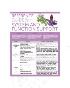 """Reference Guide for System and Function Support"" Chart"
