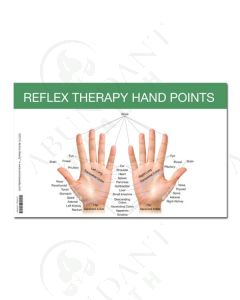 Mini Reflex Point Foot and Hand Chart