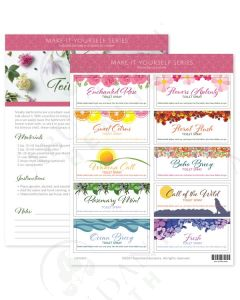 """Make-It-Yourself Series: """"Toilet Sprays"""" Recipes and Label Set"""