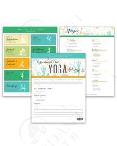 "Make-It-Yourself Series: ""Yoga Sprays"" Recipes and Label Set"