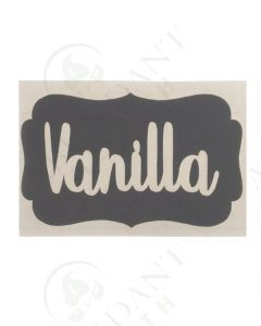 DIY Vinyl Labels: Vanilla, Gray (3 Count)