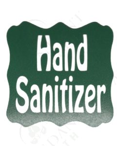 Single DIY Vinyl Label: Hand Sanitizer