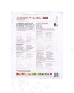 "Rollerball ""Wellness"": Recipe Sheets (25 Count)"