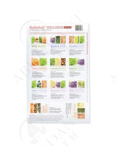 "Assorted Waterproof Labels: Rollerball ""Wellness"" (11 Count)"