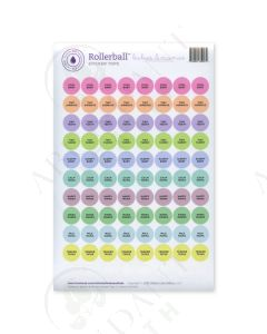 "Rollerball ""Babies & Mamas"": Sticker Tops (88 Count)"