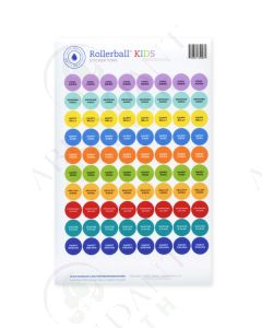 "Rollerball ""Kids"": Sticker Tops (88 Count)"