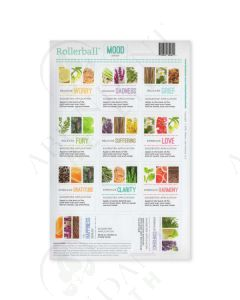 "Rollerball ""Mood Series"": Waterproof Assorted Labels (11 Count)"
