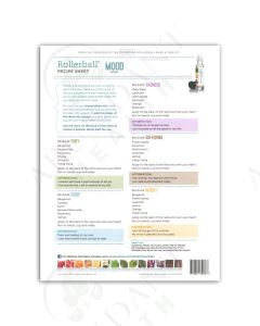 "Rollerball ""Mood Series"": Recipe Sheets (25 Count)"