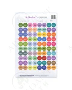 Rollerball Kits: Assorted Sticker Tops (88 Count)