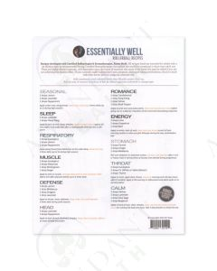 """""""Essentially Well"""": Recipe Sheets (10 Count)"""