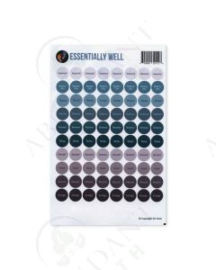 """Essentially Well"": Lid Stickers (88 Count)"