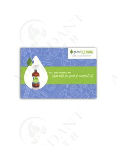 """Green Cleaning"" Postcard Invitations (20 Count)"
