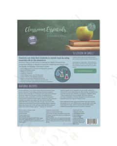 """Classroom Essentials with Essential Oils"": Recipe Tear Pad (25 Count)"