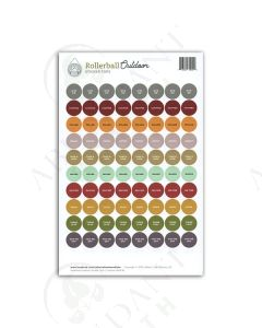 "Waterproof Sticker Tops: Rollerball™ ""Outdoor"" (88 Count)"