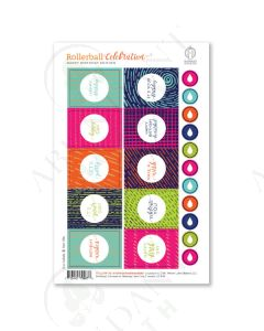 """Celebration Series Labels: """"Happy Birthday"""" Edition (10 Count)"""