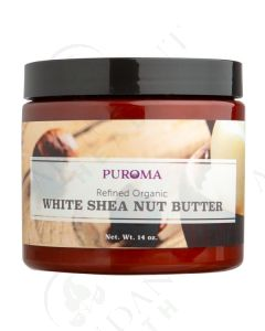 Organic Refined White Shea Butter, 14 oz.