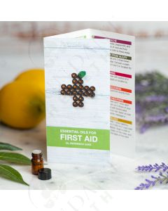 """Essential Oils For First Aid"" Oil Reference Card (10 Count)"