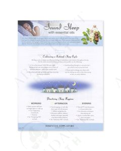 """Sound Sleep with Essential Oils"" Tear Pad (50 Count)"