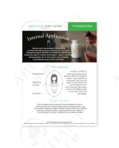 "Essential Educators: ""Internal Application"" Mini Tear Pad (50 Count)"
