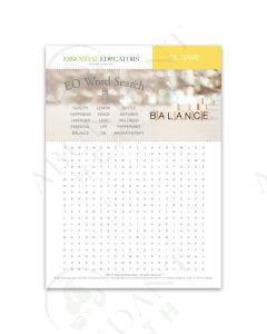 Essential Educators: Word Search and Scramble Games Mini Tear Pad (50 Count)