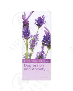"""""""8 Benefits of Essential Oils for Depression and Anxiety"""" Brochure (20 Count)"""