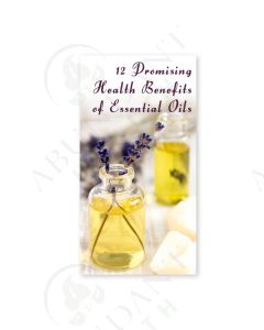 """12 Promising Health Benefits of Essential Oils"" Brochure (25 Count)"