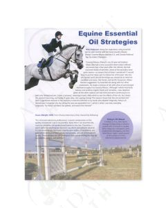 """Equine Essential Oil Strategies"" Tear Pad (50 Count)"
