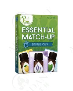 """Essential Match Up: Single Oils"" Card Game (41 Count)"