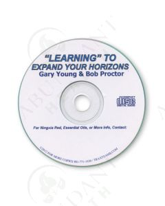 """8109CD - """"Learning"""" To Expand Your Horizons (2012) by Gary Young & Bob Proctor"""
