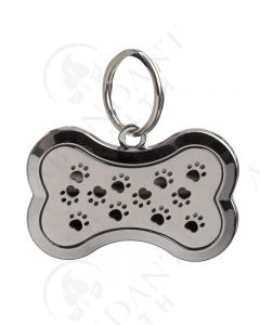 Dog Collar Diffusing Locket: Bone