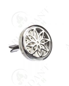 Stainless Steel Car Diffuser: Daisy